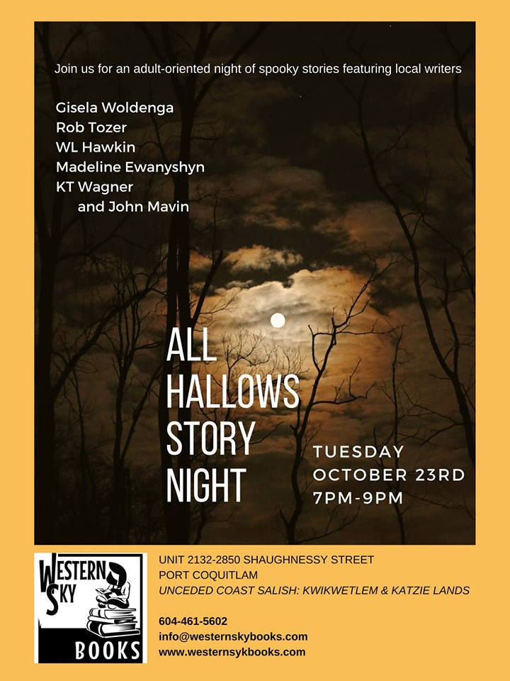 All Hallows Story Night